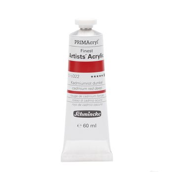 PRIMAcryl® Finest Artists' Acrylic Kadmiumrot dunkel Tube  60 ml 13322011