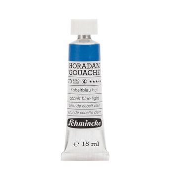 HORADAM® GOUACHE Kobaltblau hell Tube  15 ml 12470006