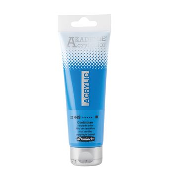 AKADEMIE® Acryl color Coelinblau Tube  120 ml 23449012