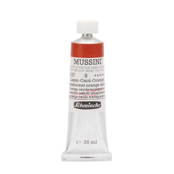 MUSSINI® Lasur-Oxid-Orange Tube  35 ml 10237009