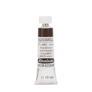 HORADAM® AQUARELL Sepiabraun Tube  15 ml 14663006
