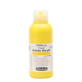 PRIMAcryl® Finest Artists' Acrylic Kadmiumgelb hell Flasche  250 ml 13207027
