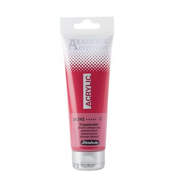 AKADEMIE® Acryl color Krappdunkel Tube  120 ml 23343012