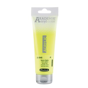 AKADEMIE® Acryl color Neon Gelb Tube  120 ml 23845012