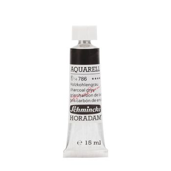 HORADAM® AQUARELL Holzkohlengrau Tube  15 ml 14786006