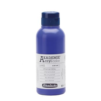 AKADEMIE® Acryl color Ultramarinblau Flasche  250 ml 23442027
