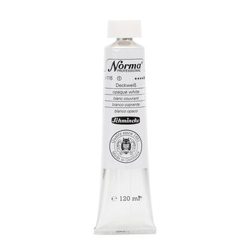 Norma® Professional Deckweiss Tube  120 ml 11116012