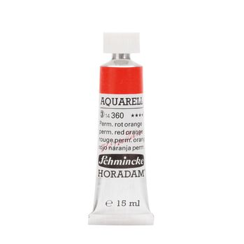 HORADAM® AQUARELL Permanentrot Orange Tube  15 ml 14360006
