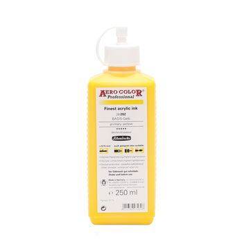 AERO COLOR® Professional BASIS Gelb Flasche  250 ml 28202027