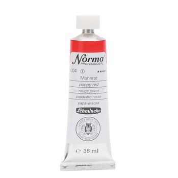 Norma® Professional Mohnrot Tube  35 ml 11304009