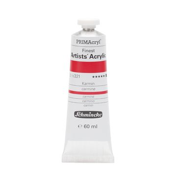 PRIMAcryl® Finest Artists' Acrylic Karmin Tube  60 ml 13321011