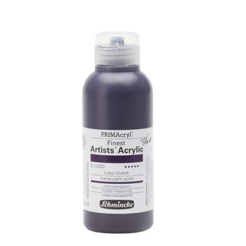 PRIMAcryl® Finest Artists' Acrylic Lasur-Violett Flasche  250 ml 13330027