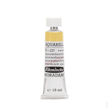 HORADAM® AQUARELL Jaune brillant tief Tube  15 ml 14221006
