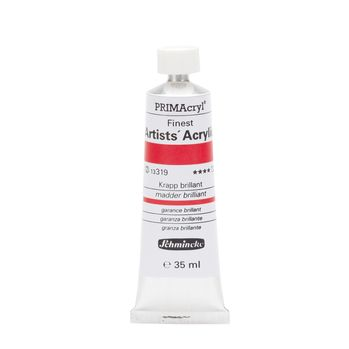 PRIMAcryl® Finest Artists' Acrylic Krapp brillant Tube  35 ml 13319009