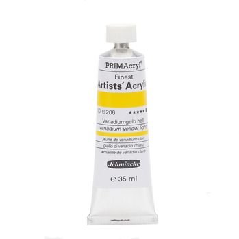 PRIMAcryl® Finest Artists' Acrylic Vanadiumgelb hell Tube  35 ml 13206009