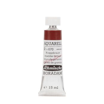 HORADAM® AQUARELL Krappbraun Tube  15 ml 14670006