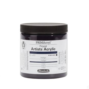 PRIMAcryl® Finest Artists' Acrylic Indigo Tiegel  237 ml 13431053