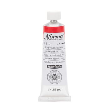Norma® Professional Kadmiumrot mix Tube  35 ml 11312009