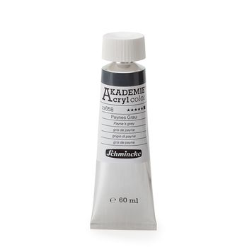 AKADEMIE® Acryl color Paynesgrau Tube  60 ml 23658011