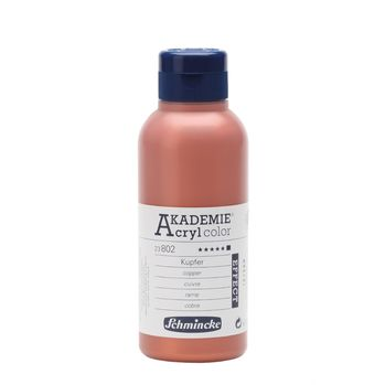 AKADEMIE® Acryl color Kupfer Flasche  250 ml 23802027