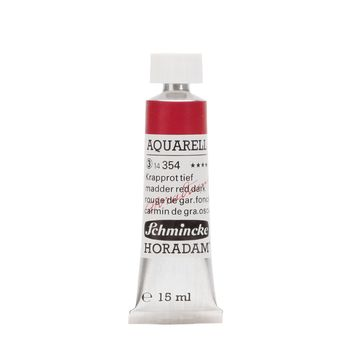 HORADAM® AQUARELL Krapprot tief Tube  15 ml 14354006