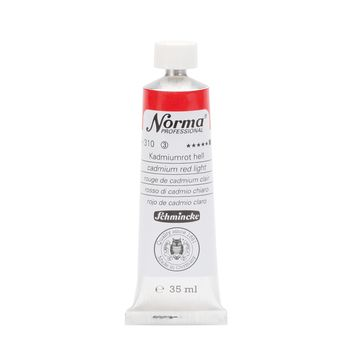 Norma® Professional Kadmiumrot hell Tube  35 ml 11310009