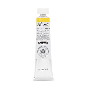 Norma® Professional Kadmiumgelb mix Tube  120 ml 11240012