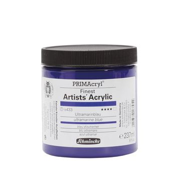 PRIMAcryl® Finest Artists' Acrylic Ultramarinblau Tiegel  237 ml 13433053