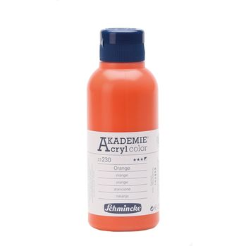 AKADEMIE® Acryl color Orange Flasche  250 ml 23230027