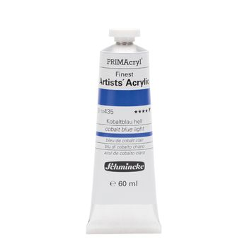 PRIMAcryl® Finest Artists' Acrylic Kobaltblau hell Tube  60 ml 13435011