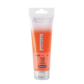 AKADEMIE® Acryl color Orange Tube  120 ml 23230012