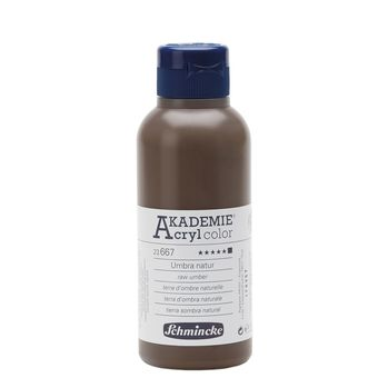AKADEMIE® Acryl color Umbra natur Flasche  250 ml 23667027