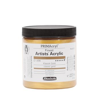 PRIMAcryl® Finest Artists' Acrylic Klassik Gold Tiegel  237 ml 13896053
