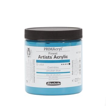 PRIMAcryl® Finest Artists' Acrylic Coelinblau Tiegel  237 ml 13454053