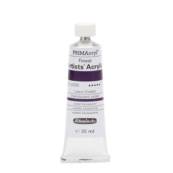 PRIMAcryl® Finest Artists' Acrylic Lasur-Violett Tube  35 ml 13330009