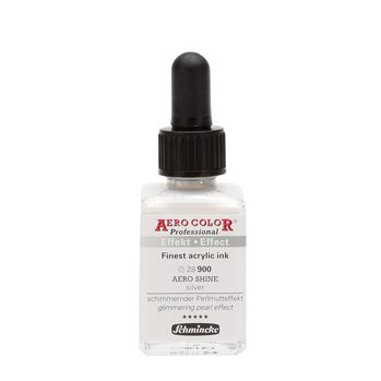 AERO COLOR® Professional AERO SHINE silver Glas  28 ml 28900023