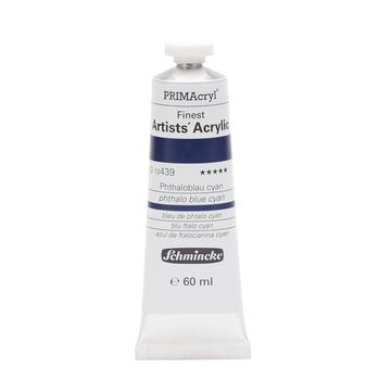 PRIMAcryl® Finest Artists' Acrylic Phthaloblau cyan Tube  60 ml 13439011