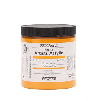 PRIMAcryl® Finest Artists' Acrylic Indischgelb Tiegel  237 ml 13212053