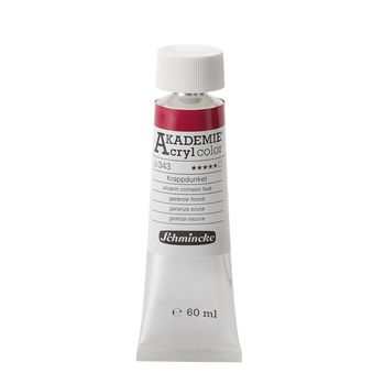 AKADEMIE® Acryl color Krappdunkel Tube  60 ml 23343011