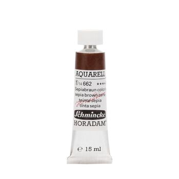 HORADAM® AQUARELL Sepiabraun coloriert Tube  15 ml 14662006