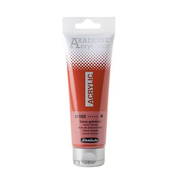 AKADEMIE® Acryl color Siena gebrannt Tube  120 ml 23665012