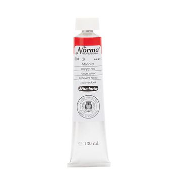 Norma® Professional Mohnrot Tube  120 ml 11304012