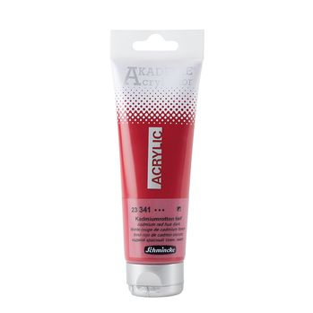 AKADEMIE® Acryl color Kadmiumrotton tief Tube  120 ml 23341012