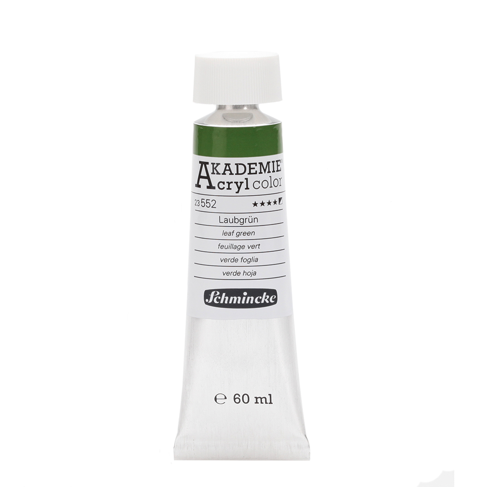 AKADEMIE® Acryl color Laubgrün Tube  60 ml 23552011