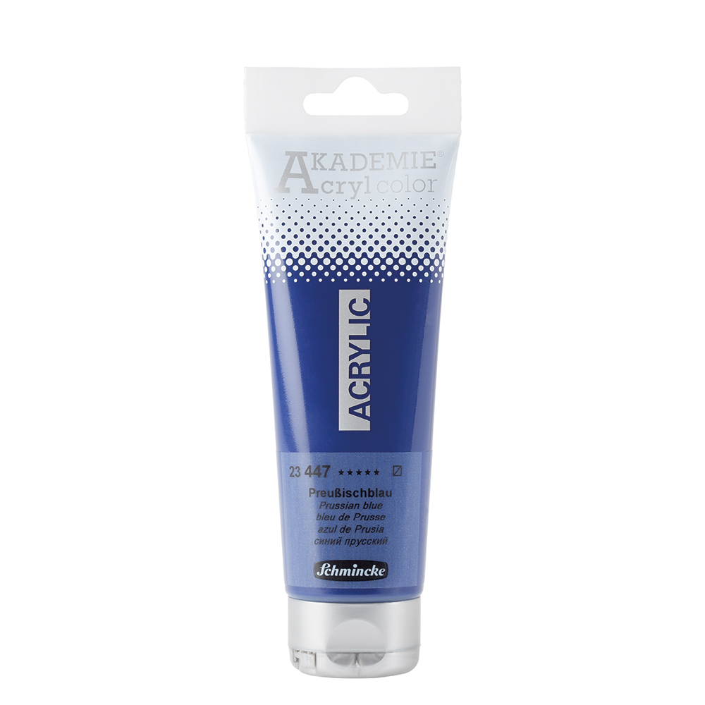 AKADEMIE® Acryl color Preußischblau Tube  120 ml 23447012