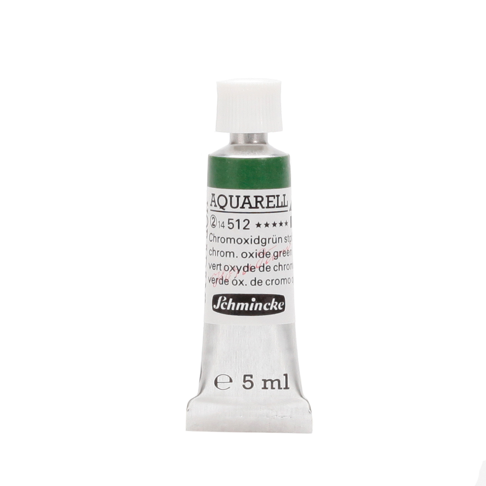 HORADAM® AQUARELL Chromoxidgrün stumpf Tube  5 ml 14512001