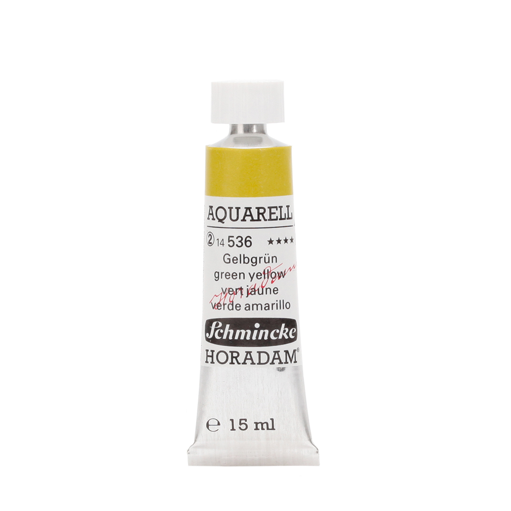 HORADAM® AQUARELL Gelbgrün Tube  15 ml 14536006