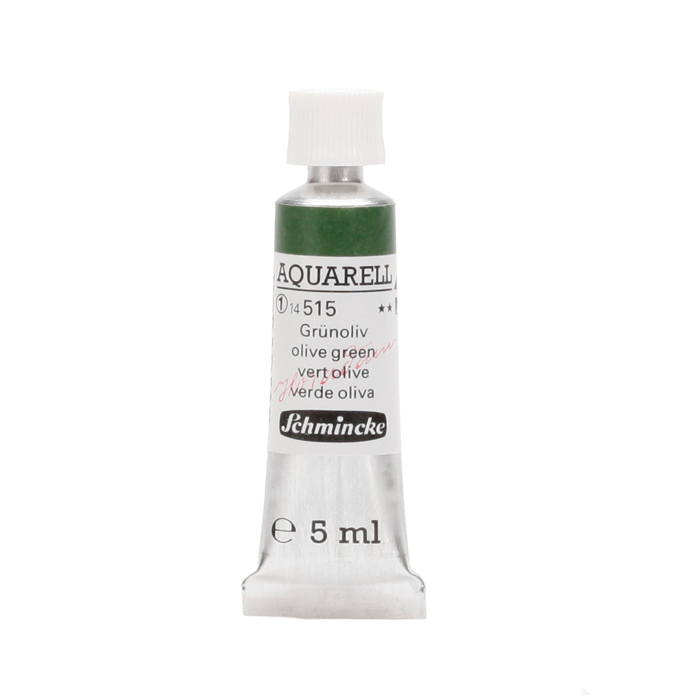 HORADAM® AQUARELL Grünoliv Tube  5 ml 14515001