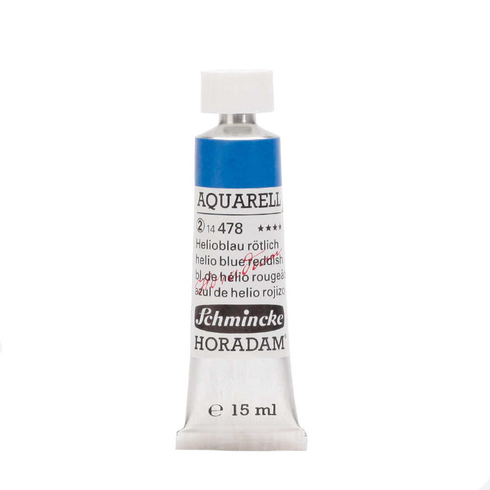 HORADAM® AQUARELL Helioblau rötlich Tube  15 ml 14478006