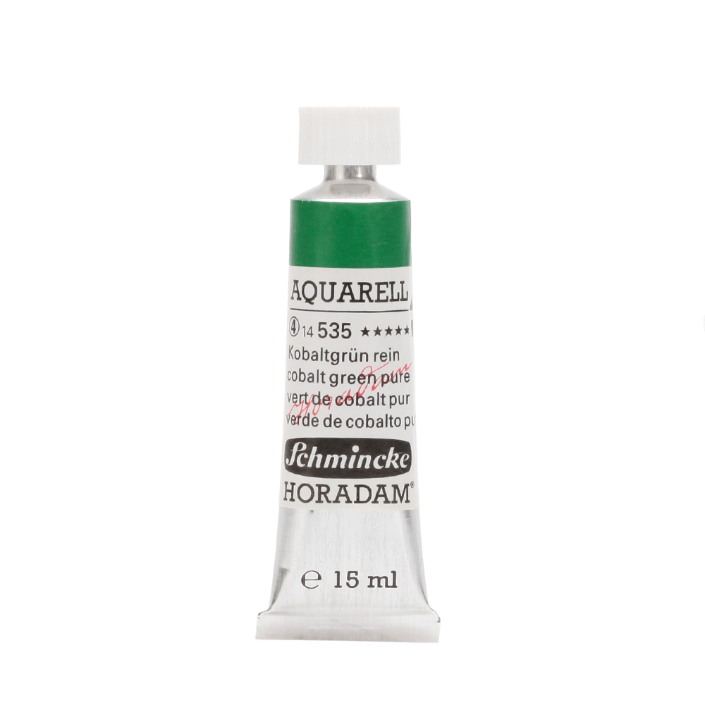 HORADAM® AQUARELL Kobaltgrün rein Tube  15 ml 14535006